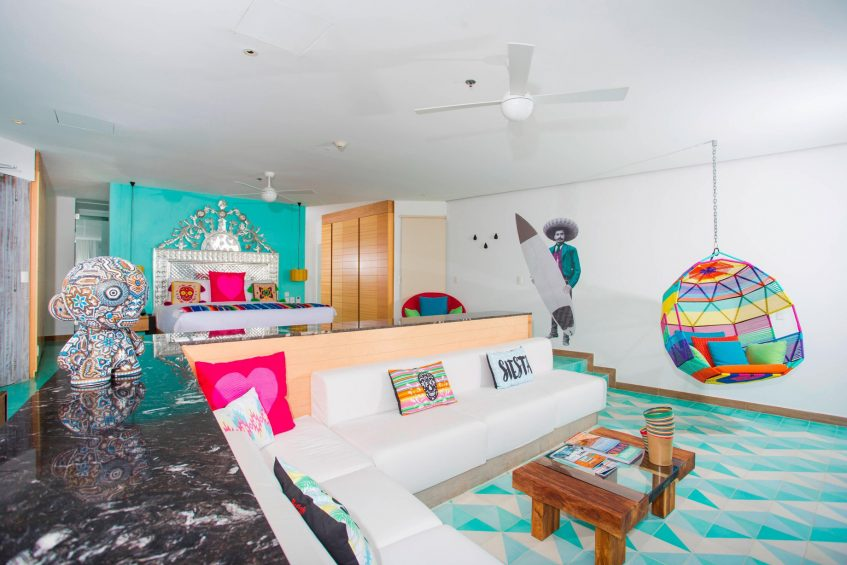 W Punta de Mita Luxury Resort - Punta De Mita, Mexico - Ocean Front Oasis Suite Living Room