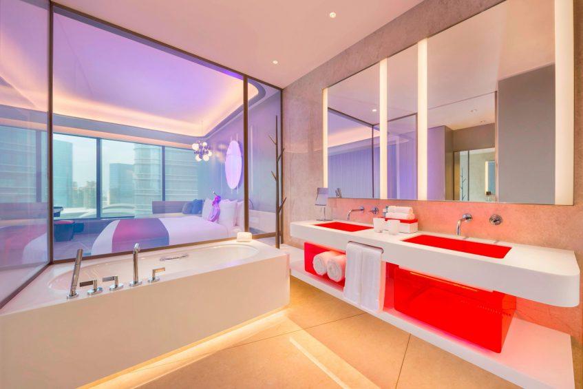 W Suzhou Luxury Hotel - Suzhou, China - Spectacular Guest Bathroom