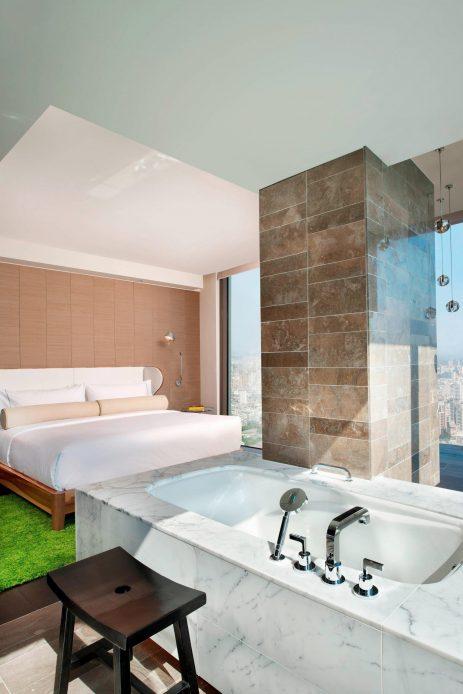 W Taipei Luxury Hotel - Taipei, Taiwan - Fantastic Suite Tub