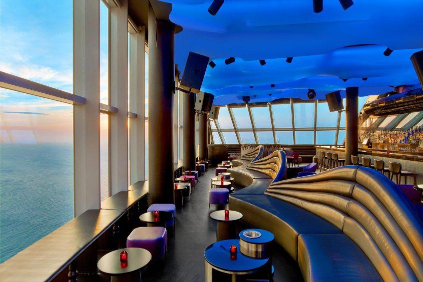 W Barcelona Luxury Hotel - Barcelona, Spain - Eclipse Bar North Side