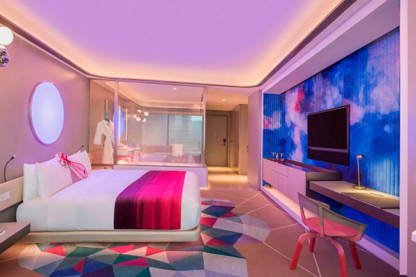 W Suzhou Luxury Hotel - Suzhou, China - Spectacular Guest Bedroom