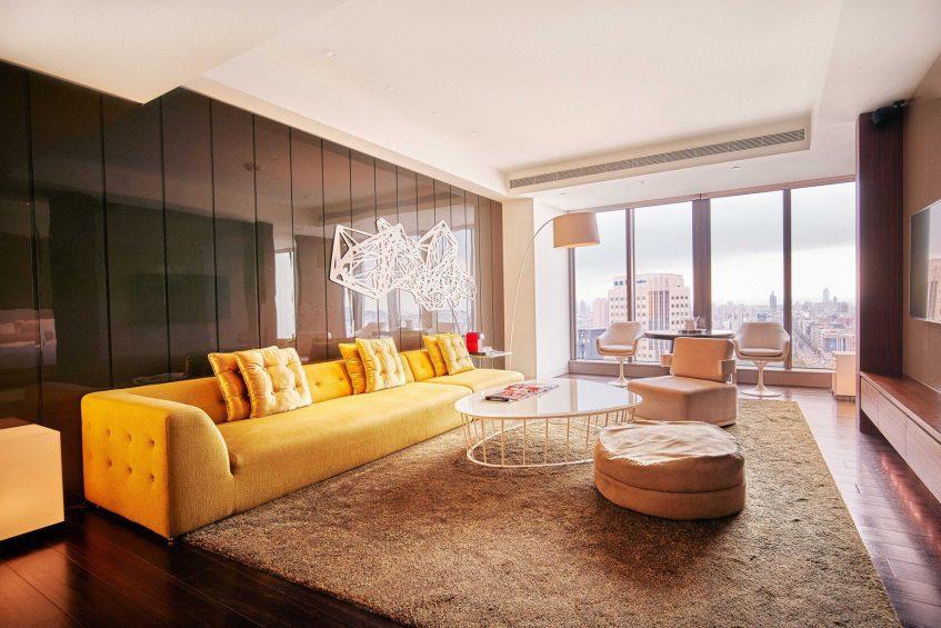 W Taipei Luxury Hotel - Taipei, Taiwan - Marvelous Suite Living Area