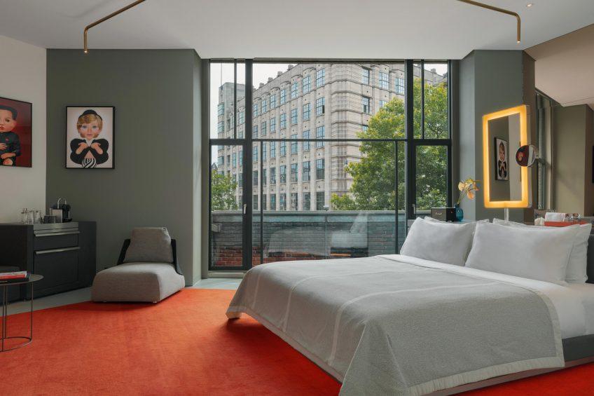W Amsterdam Luxury Hotel - Amsterdam, Netherlands - Cool Corner Exchange Suite View
