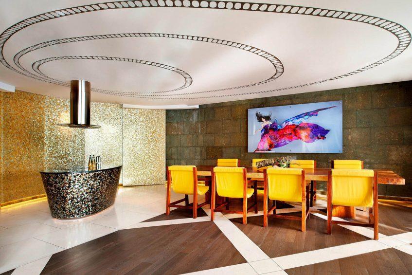 W Bali Seminyak Luxury Resort - Seminyak, Indonesia - Extreme WOW Suite Dining Room