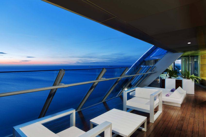 W Barcelona Luxury Hotel - Barcelona, Spain - E WOW Suite Terrace