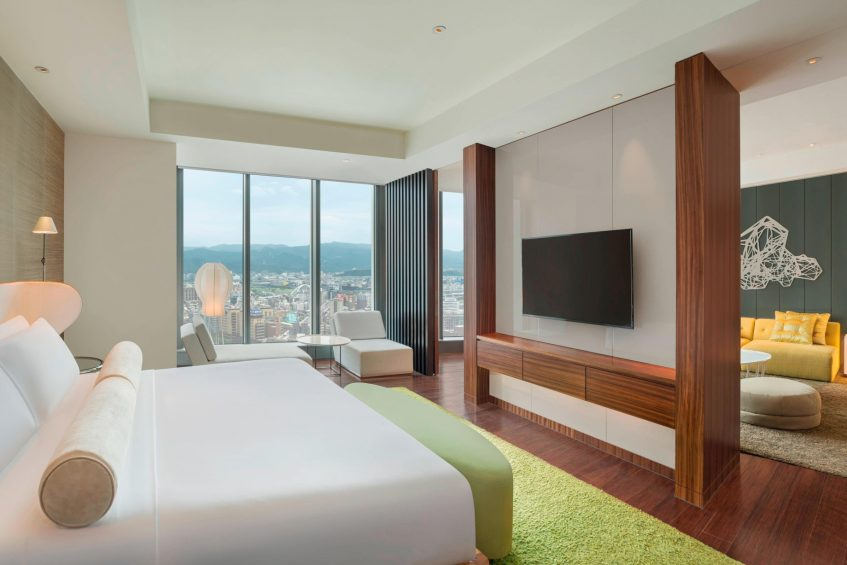 W Taipei Luxury Hotel - Taipei, Taiwan - Marvelous Suite King room