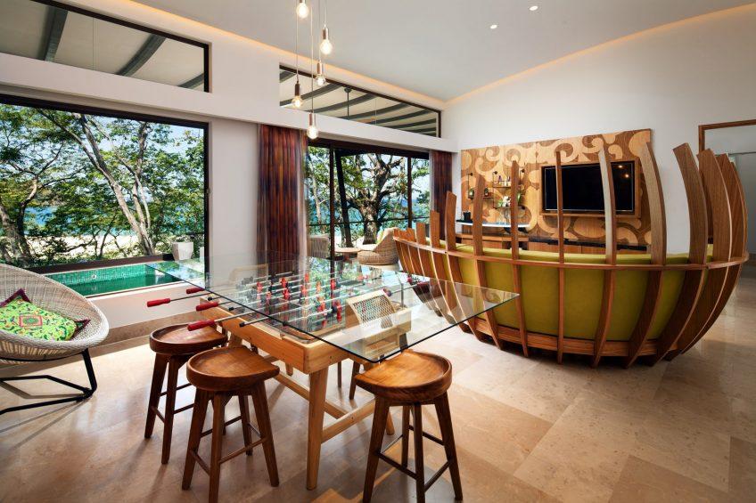 W Costa Rica Reserva Conchal Luxury Resort - Costa Rica - Sunset Tree House Suite Living Area