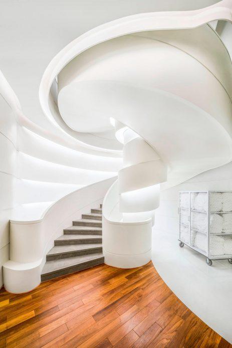 W Shanghai The Bund Luxury Hotel - Shanghai, China - AWAY Spa Stairs