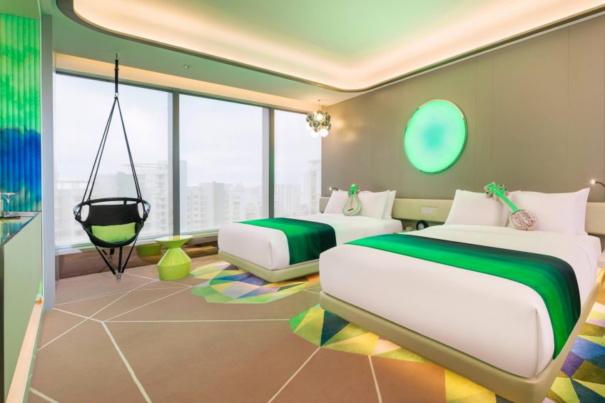W Suzhou Luxury Hotel - Suzhou, China - Spectacular Room Bathroom