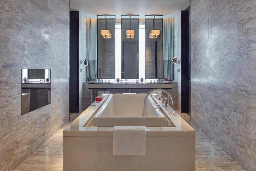 W Guangzhou Luxury Hotel - Tianhe District, Guangzhou, China - Extreme WOW Suite Bathroom