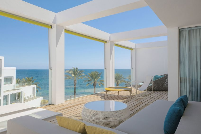 W Ibiza Luxury Hotel - Santa Eulalia del Rio, Spain - WOW Suite Terrace