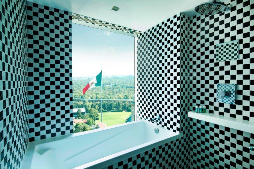 W Mexico City Luxury Hotel - Polanco, Mexico City, Mexico - Suite Bathroom Tub
