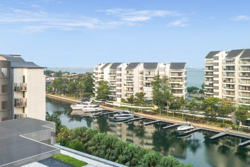W Singapore Sentosa Cove Luxury Hotel - Singapore - Wonderful Guest Room View