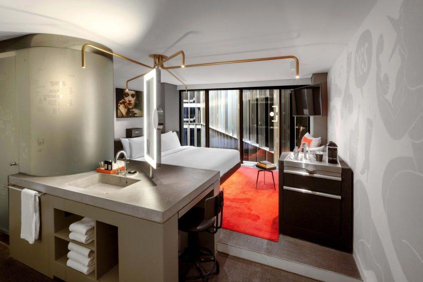 W Amsterdam Luxury Hotel - Amsterdam, Netherlands - Cozy Exchange Room