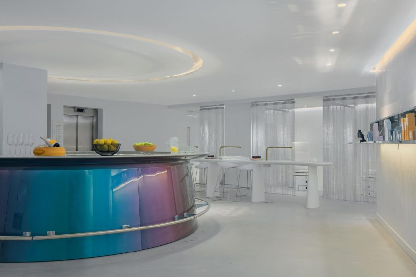 W Ibiza Luxury Hotel - Santa Eulalia del Rio, Spain - Spa Reception