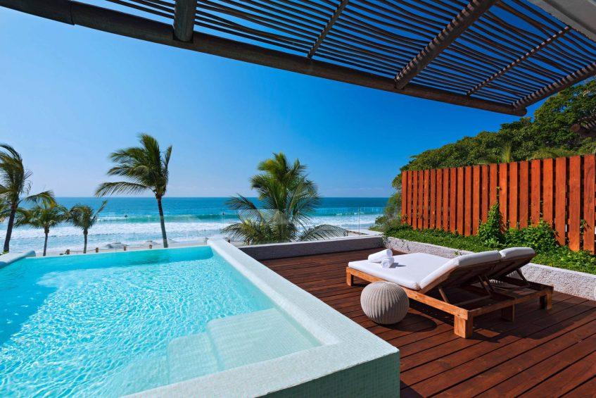W Punta de Mita Luxury Resort - Punta De Mita, Mexico - Oasis Suite Balcony