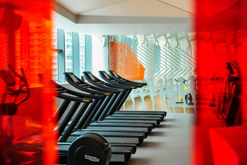 W Shanghai The Bund Luxury Hotel - Shanghai, China - FIT Gym Equipment