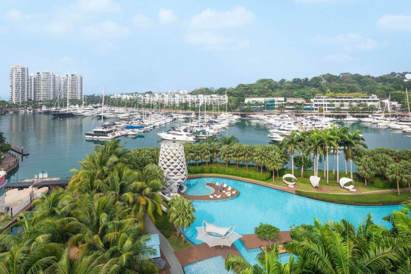 W Singapore Sentosa Cove Luxury Hotel - Singapore - WOW Suite Pool View