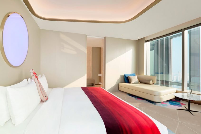 W Suzhou Luxury Hotel - Suzhou, China - Studio Suite King