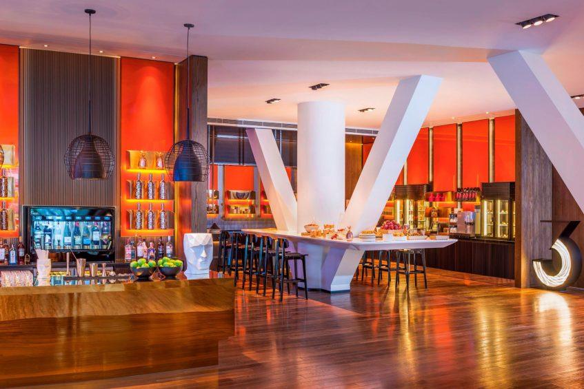 W Shanghai The Bund Luxury Hotel - Shanghai, China - Pre Function Area