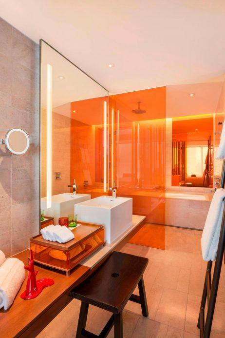 W Taipei Luxury Hotel - Taipei, Taiwan - Spectacular Guest King Bathroom