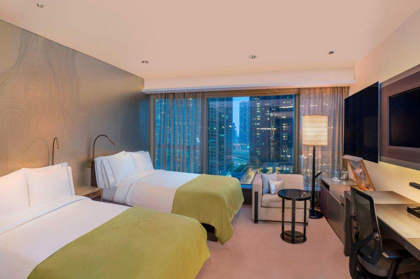 W Hong Kong Luxury Hotel - Hong Kong - Wonderful Twin Room