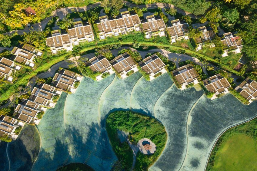 W Punta de Mita Luxury Resort - Punta De Mita, Mexico - Spectacular Guest Rooms Aerial View