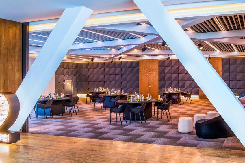 W Shanghai The Bund Luxury Hotel - Shanghai, China - Stage 2 Meeting Setup