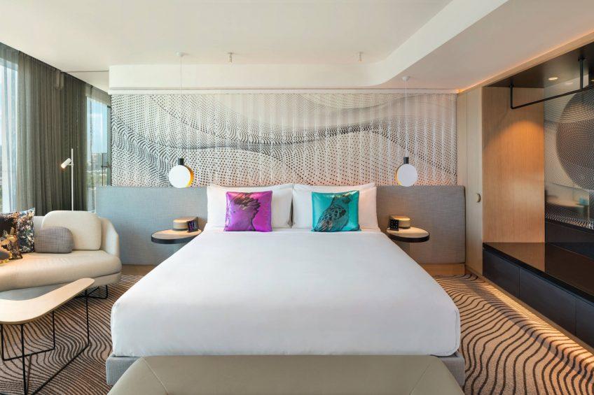 W Brisbane Luxury Hotel - Brisbane, Australia - Suite Bedroom