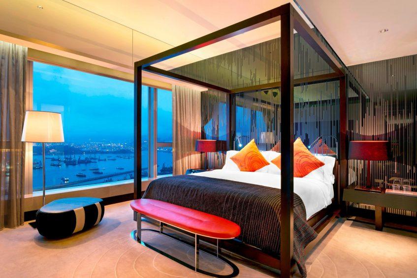 W Hong Kong Luxury Hotel - Hong Kong - WOW Suite Bedroom