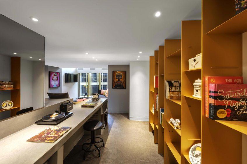 W Amsterdam Luxury Hotel - Amsterdam, Netherlands - Marvelous Exchange One Bedroom Loft Office