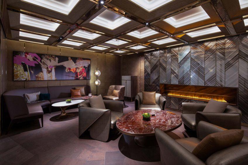W Chengdu Luxury Hotel - Chengdu, China - Living Room Cigar Bar