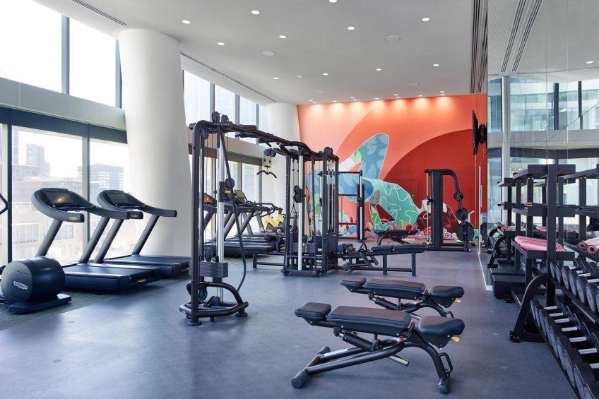 W Melbourne Luxury Hotel - Melbourne, Australia - FIT Gym