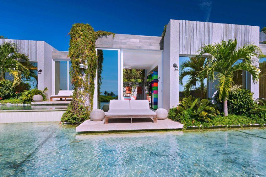 W Punta de Mita Luxury Resort - Punta De Mita, Mexico - Spectacular Room Lake Balcony