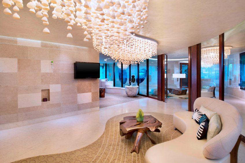 W Singapore Sentosa Cove Luxury Hotel - Singapore - AWAY Spa Lounge