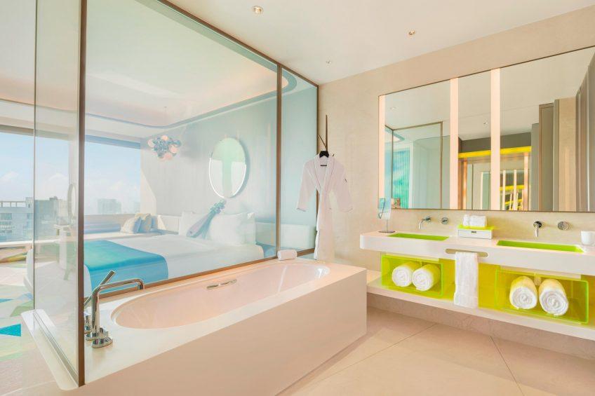 W Suzhou Luxury Hotel - Suzhou, China - Wonderful Guest Bathroom