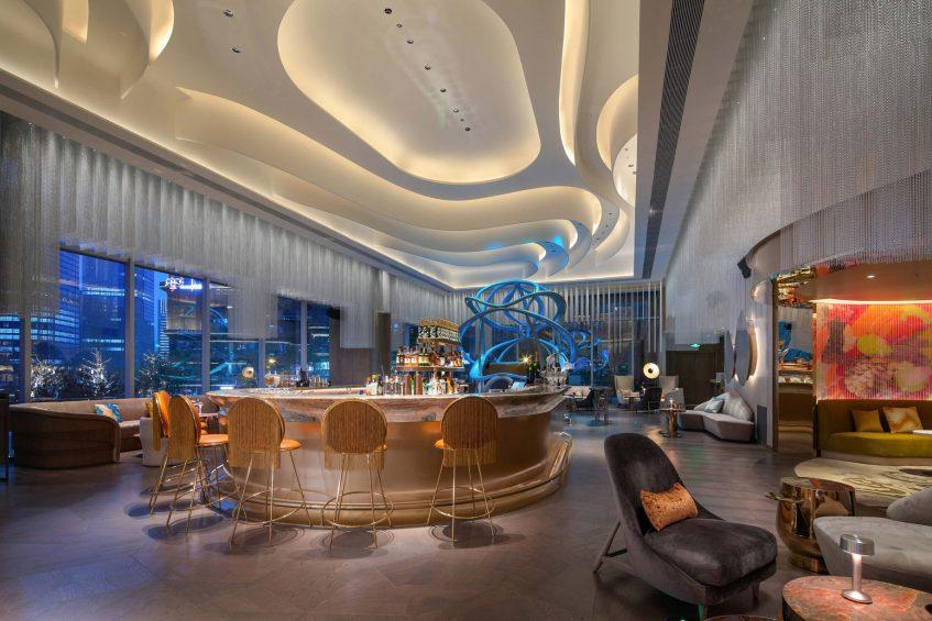 W Chengdu Luxury Hotel - Chengdu, China - Living Room Lounge
