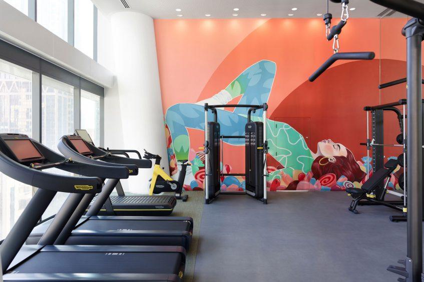 W Melbourne Luxury Hotel - Melbourne, Australia - FIT Gym Equipment