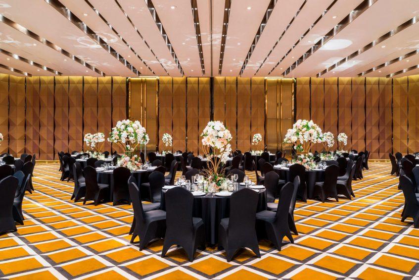 W Shanghai The Bund Luxury Hotel - Shanghai, China - Mega Room Wedding Banquet