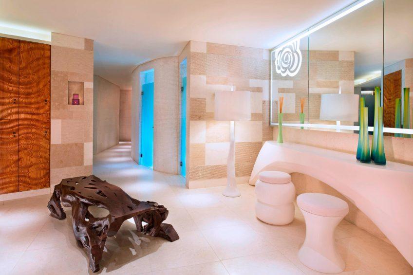 W Singapore Sentosa Cove Luxury Hotel - Singapore - AWAY Spa Bathroom
