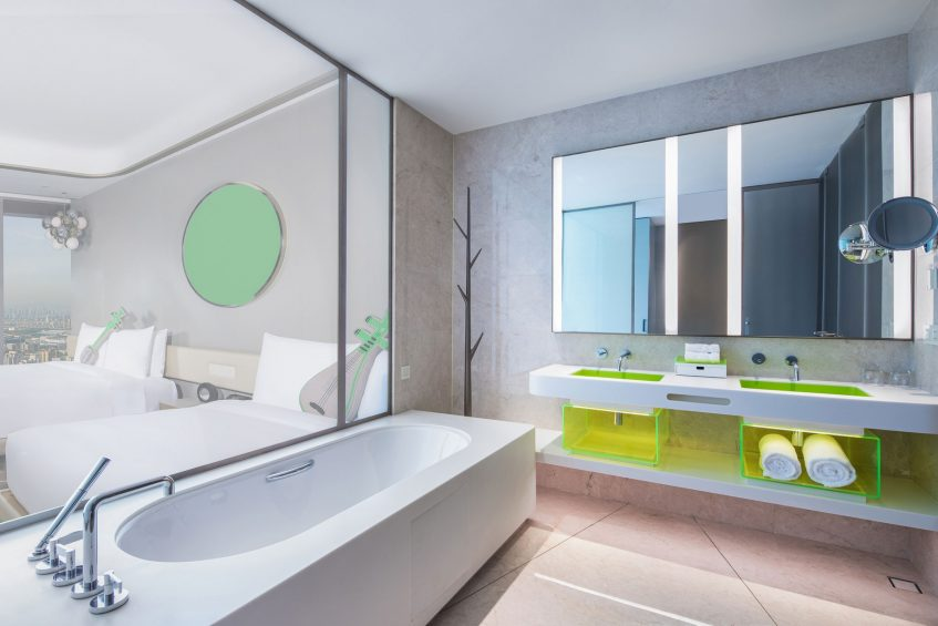W Suzhou Luxury Hotel - Suzhou, China - Wonderful Room Bathroom