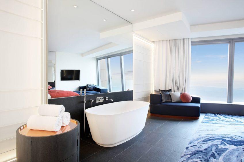 W Barcelona Luxury Hotel - Barcelona, Spain - Cool Corner Suite Tub