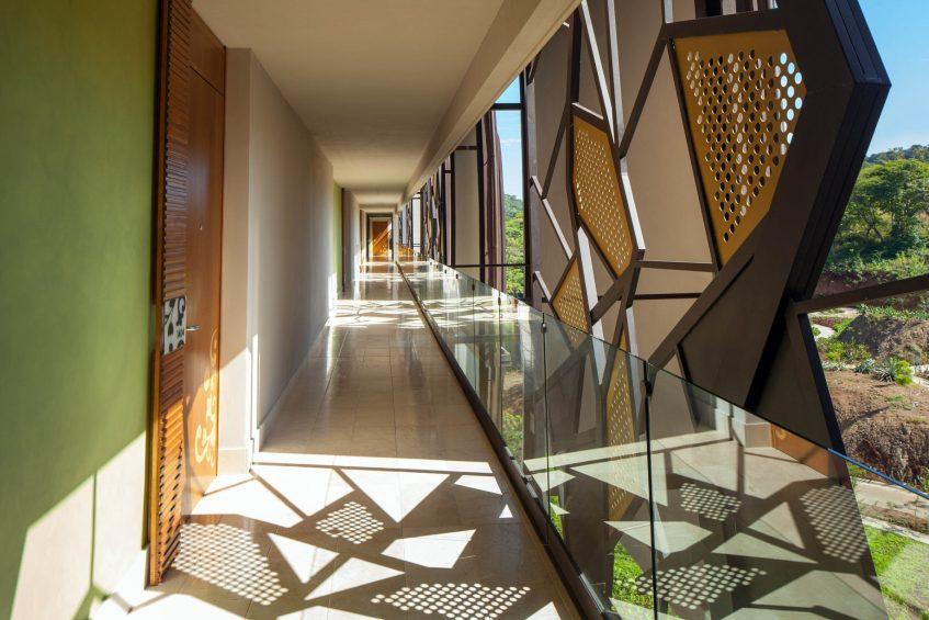 W Costa Rica Reserva Conchal Luxury Resort - Costa Rica - 4th Floor Hallway