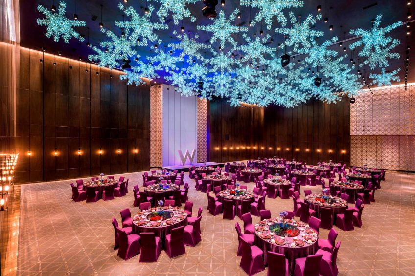 W Guangzhou Luxury Hotel - Tianhe District, Guangzhou, China - Great Room Wedding Reception