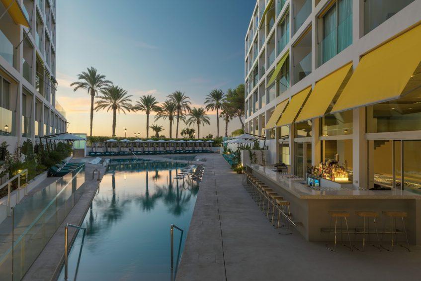 W Ibiza Luxury Hotel - Santa Eulalia del Rio, Spain - WET Deck Twilight