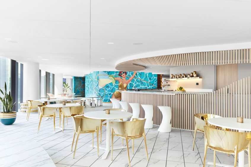 W Melbourne Luxury Hotel - Melbourne, Australia - WET Bar