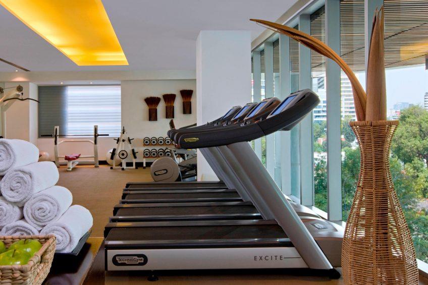 W Mexico City Luxury Hotel - Polanco, Mexico City, Mexico - FIT Gym Equipment