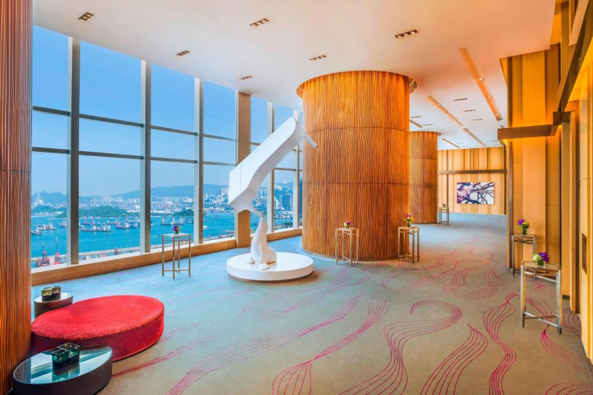 W Hong Kong Luxury Hotel - Hong Kong - Great Room Foyer