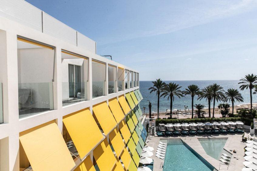 W Ibiza Luxury Hotel - Santa Eulalia del Rio, Spain - Wet Deck