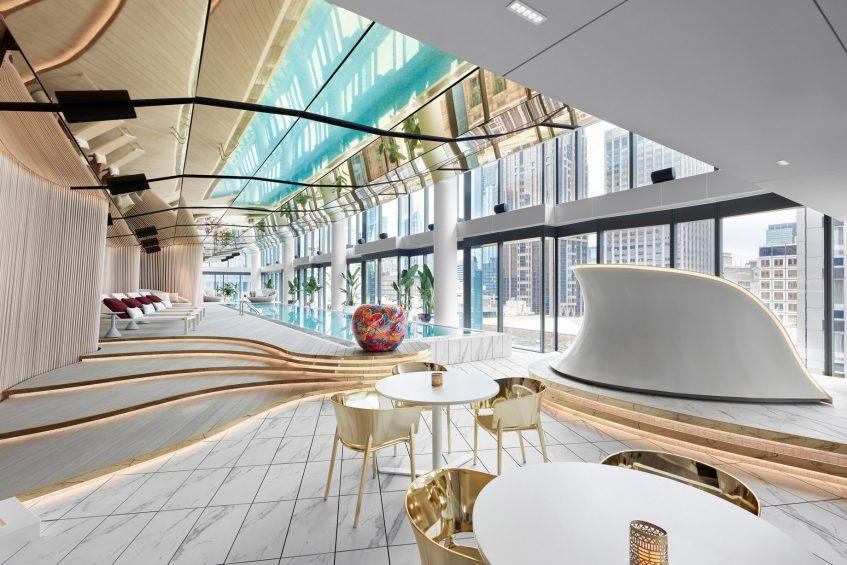 W Melbourne Luxury Hotel - Melbourne, Australia - WET Pool Deck